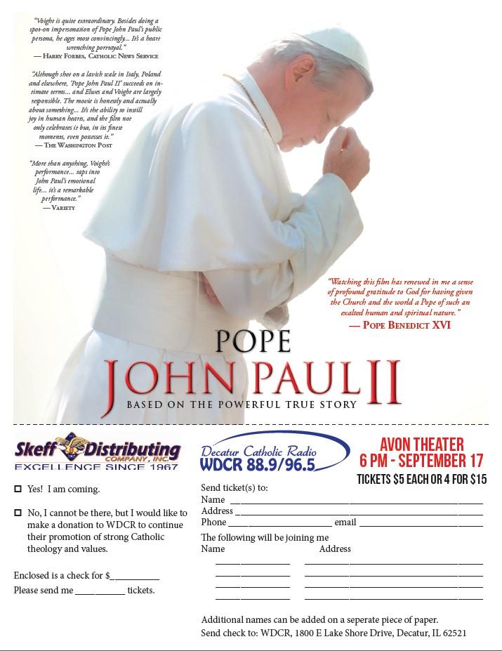 PopeJohnPaulIIFilm