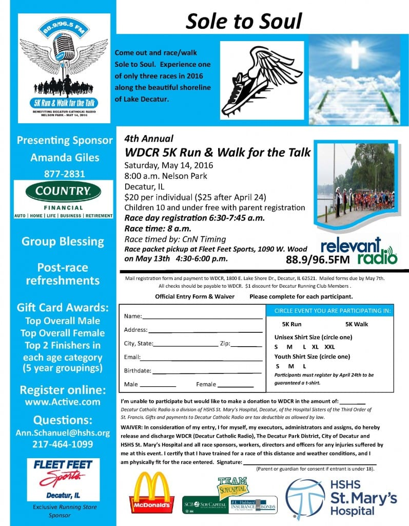 4thannual5K Flyer
